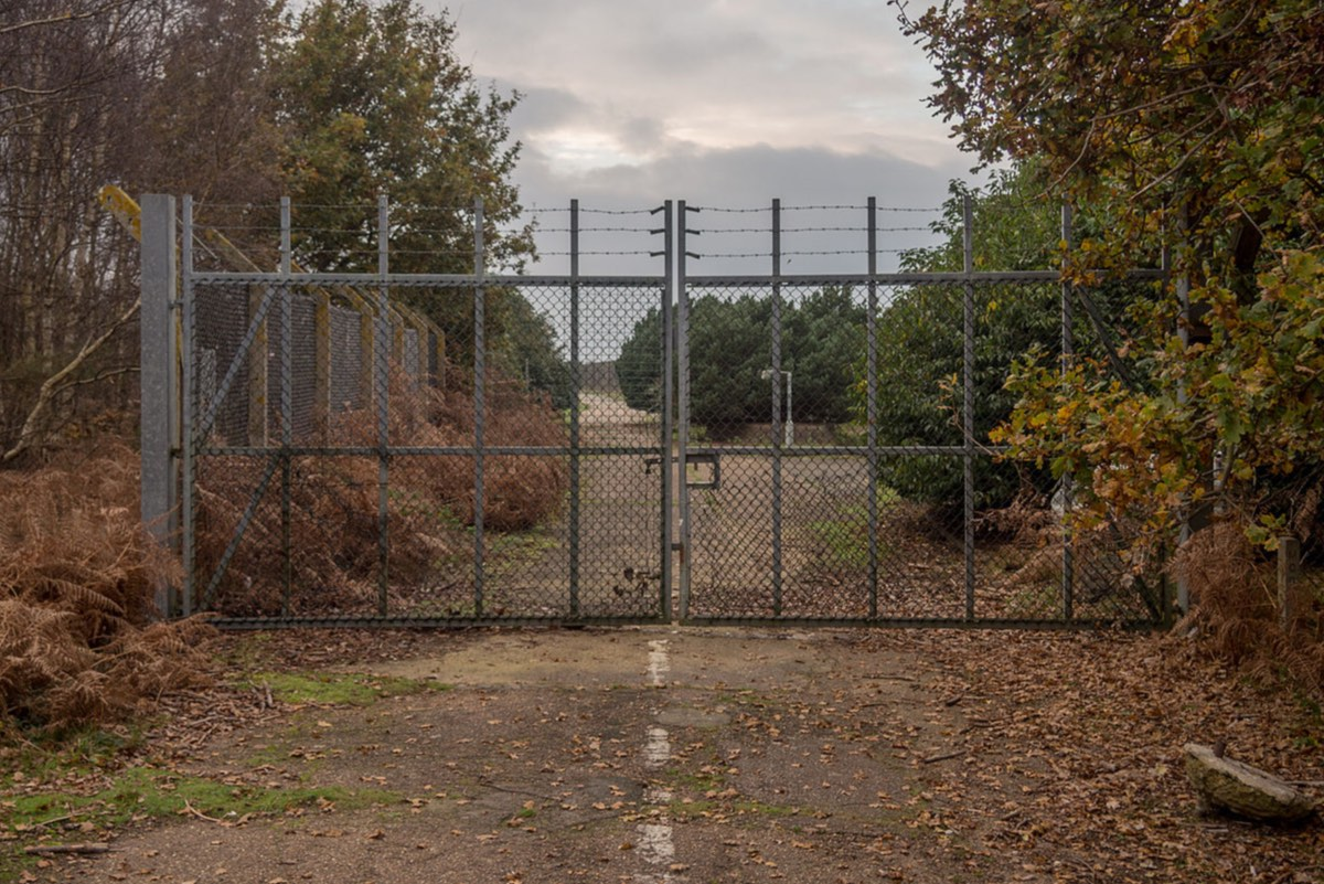 The sightings began around the isolated east gate at Woodbridge (Credit: Taras Young)