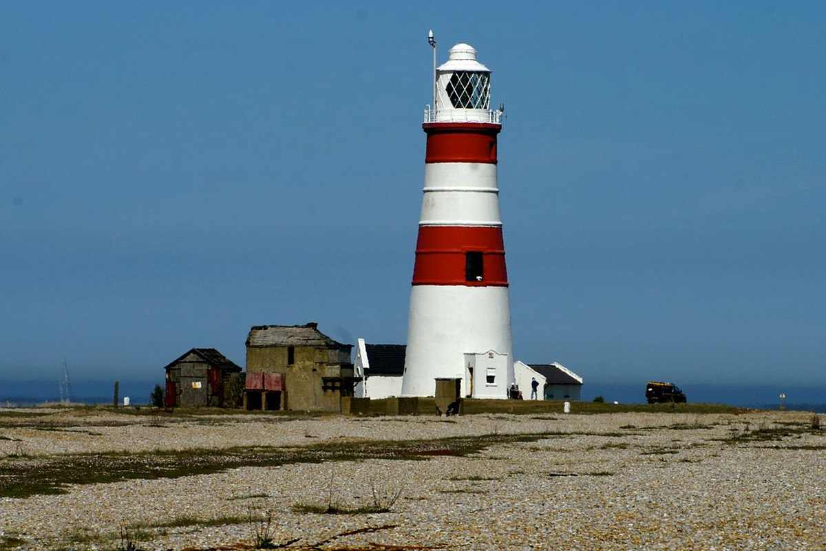 Sceptics suggest the lights could have been the nearby Orfordness lighthouse (Credit: David Merrett)