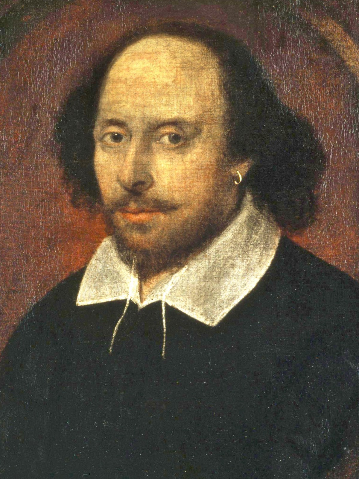 Portrait of Shakespeare by unknown artist