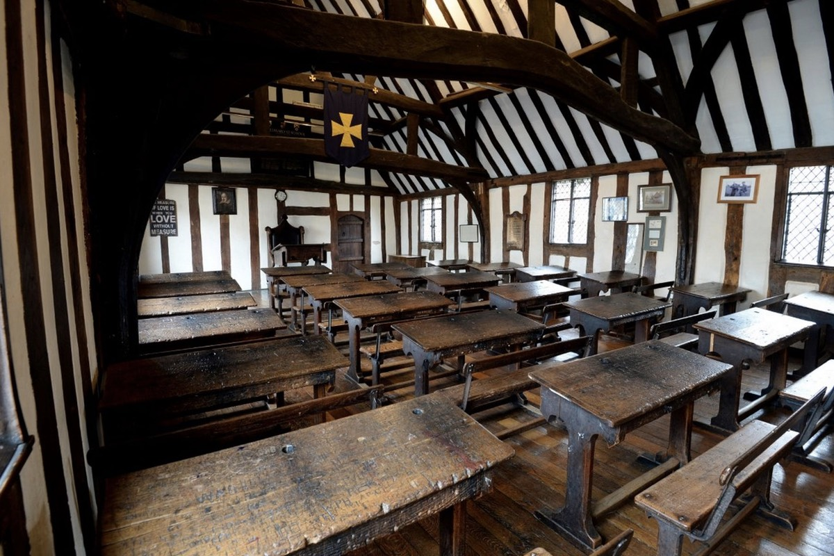 Scholars say Shakespeare probably attended the Stratford grammar school