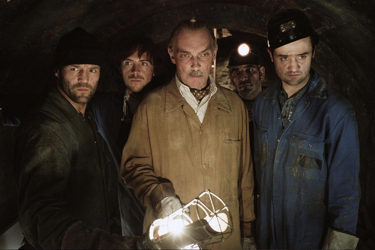 A still from the 2008 film The Bank Job which dramatizes the robbery