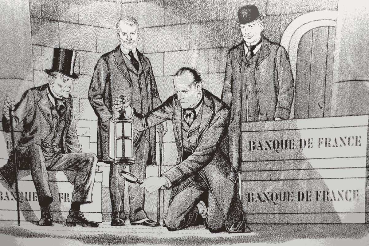 The raid had echoes of Sherlock Holmes