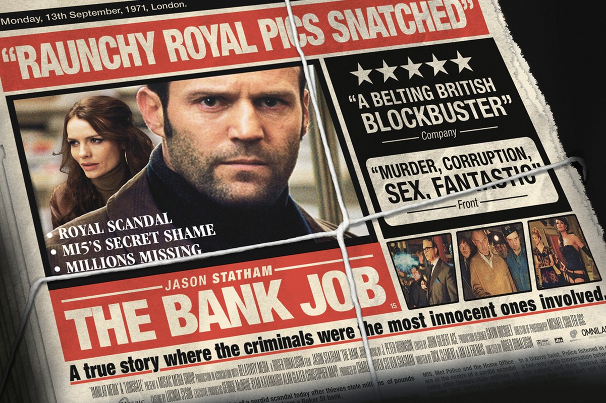 The Royal scandal theory is depicted in the 2008 film The Bank Job