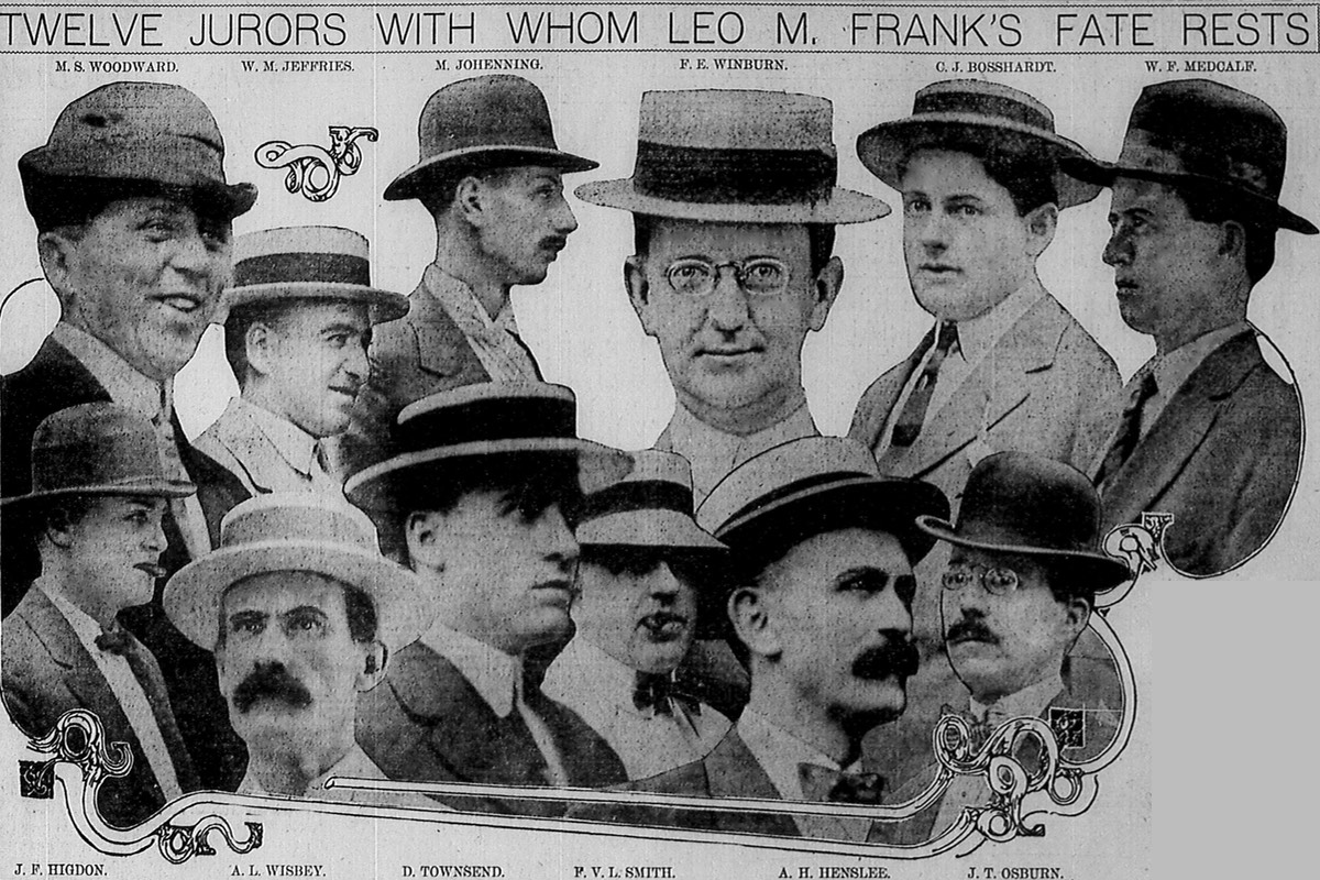 The jurors who convicted Leo Frank
