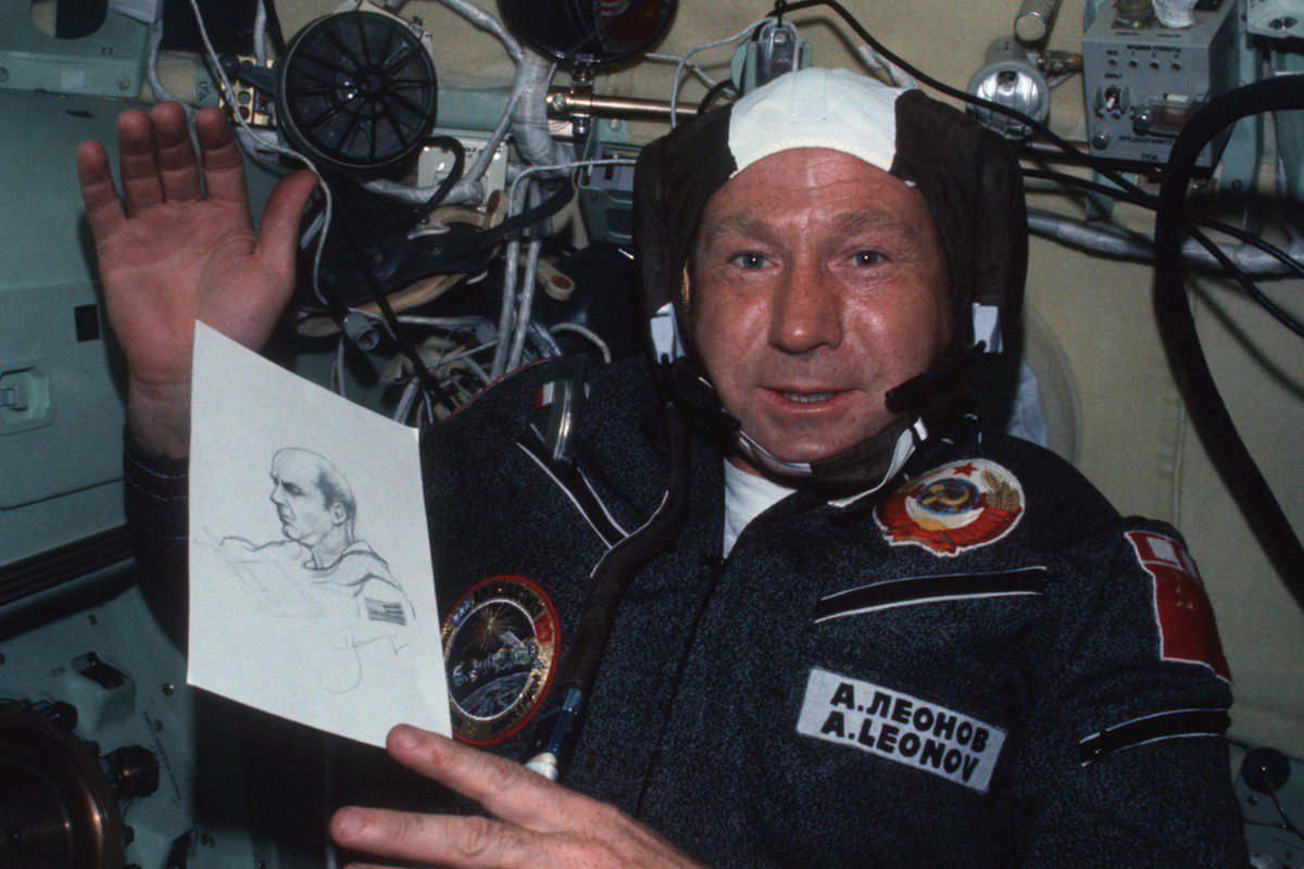 Cosmonaut Alexei Leonov was supposed to be one of Apollo 20's secret crew.