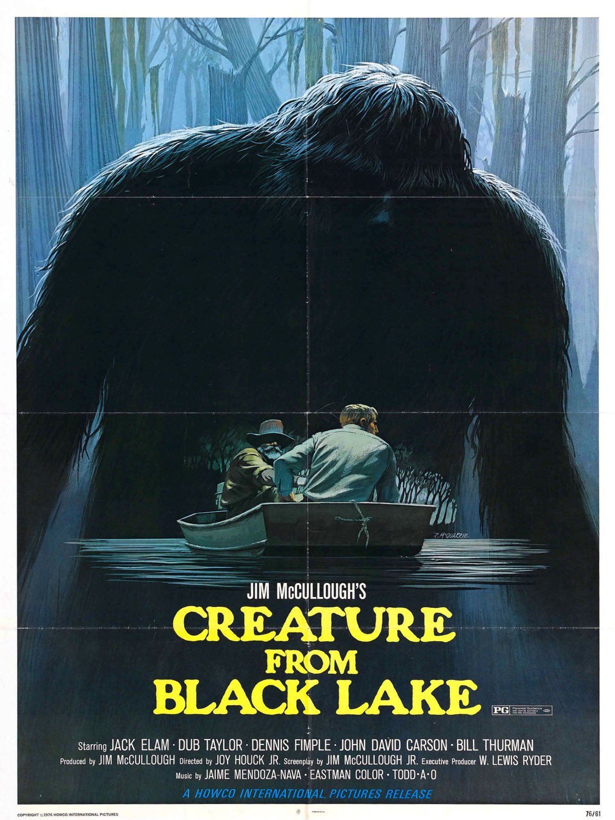 where was the legend of boggy creek filmed