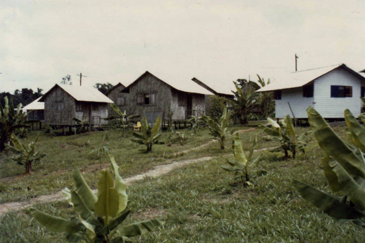 CIA agent George Phillip Blakey help found Jonestown in the mid-1970s (credit: Jonestown Institute)