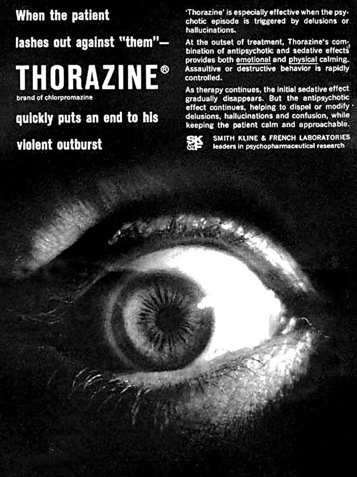 11,000 doses of antipsychotic drug Thorazine—used by the CIA's MK-ULTRA program, were found at Jonestown